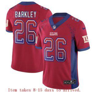 New York Giants Saquon Barkley Drift Jersey